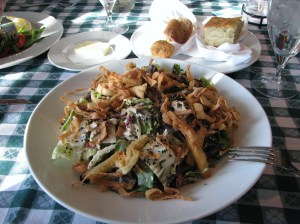 Brothers Restaurant - Chinese Chicken Salad