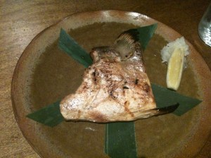 OkAN - Grilled Hamachi Cheek