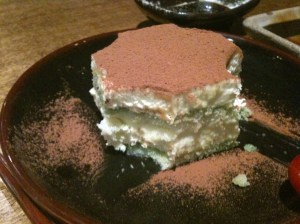 OKAN - green tea tiramisu